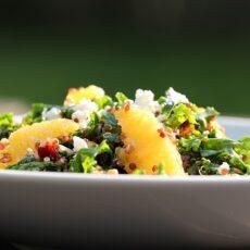 Kale, Quinoa and Orange Salad